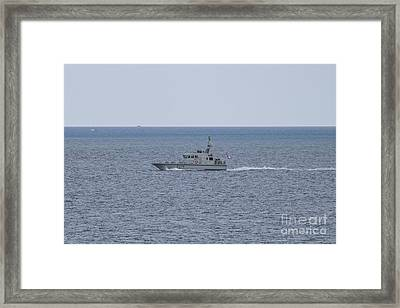 A34 Hms Blazer Framed Print by Terri Waters
