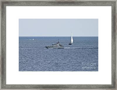 A35 Hmsranger Framed Print by Terri Waters
