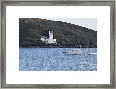 A37 Hms Blazer Framed Print by Terri Waters