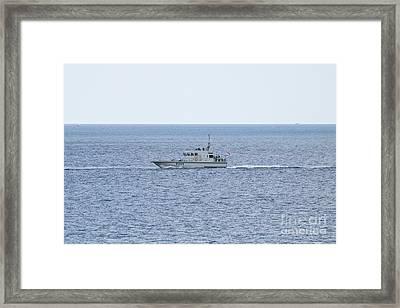 A41 Hms Ranger Framed Print by Terri Waters