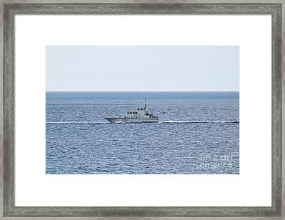 A42 Hms Ranger Framed Print by Terri Waters