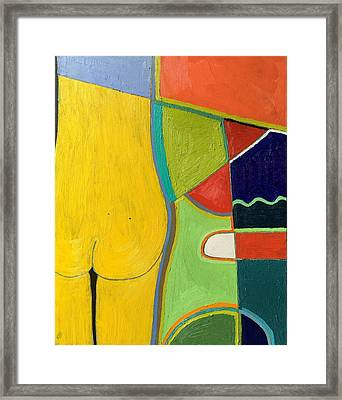 Framed Print featuring the painting A112oil On Canvas  30 X 40  2010 by Radoslaw Zipper