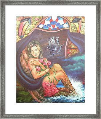 Abana Travel Framed Print by Jorge L Martinez Camilleri