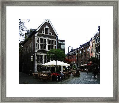 Aachen Framed Print