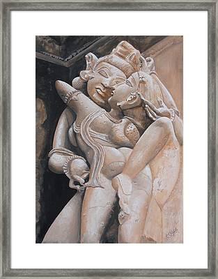 Aalingan Framed Print by Rajesh Chopra