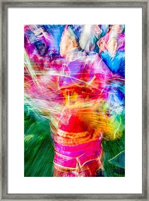 Aaniiih Dance Framed Print by Todd Klassy