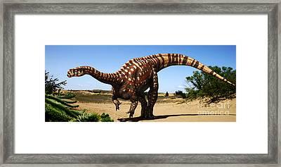 Aardonyx Framed Print