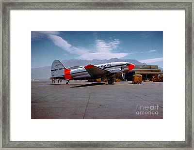 Aaxico Ch-28 Logair Curtiss C-46 Commando N67977,  Framed Print by Wernher Krutein