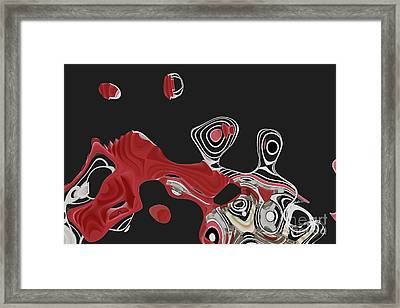 Ab-strackto - H16bc4 Framed Print by Variance Collections