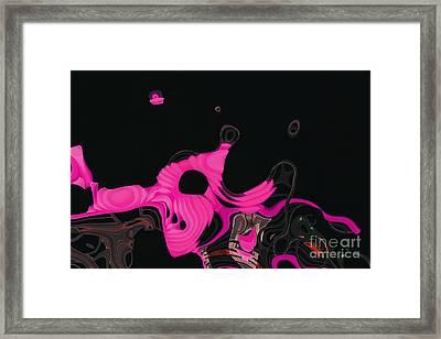 Ab-strakto - Hi16c3-28723t11 Framed Print by Variance Collections