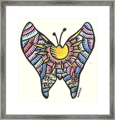 Ababang Guam Butterfly 2009 Framed Print