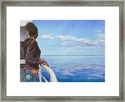 Abaco Dream Framed Print