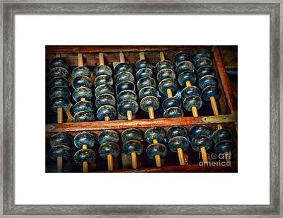 Abacus Framed Print by Paul Ward