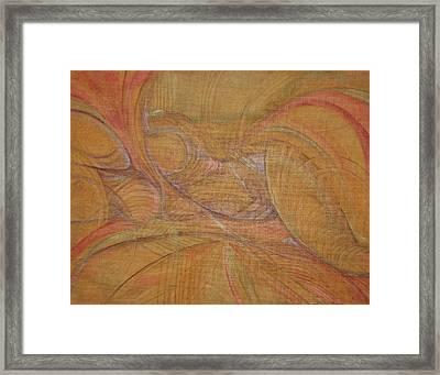 Abalone Framed Print by Caroline Czelatko
