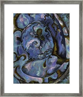 Abalone Framed Print by Lisa Reinhardt