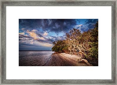 Abandon Island Framed Print by Marvin Spates