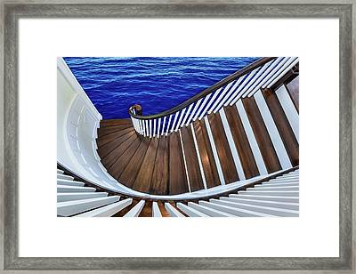 Abandon Ship Framed Print by Paul Wear
