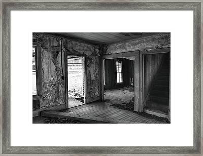 Abandoned #2 Framed Print by Bonnie Bruno