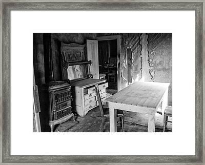 Abandoned And Weathered Framed Print