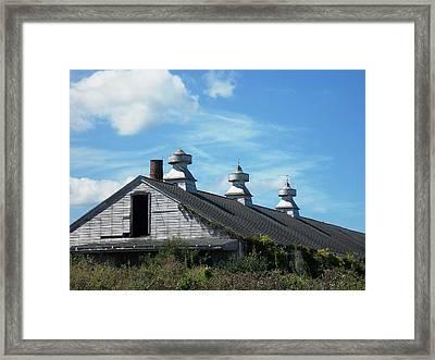 Abandoned Barn 1 Framed Print