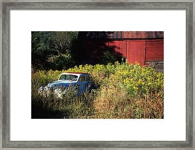 Abandoned Framed Print by Barry Shaffer