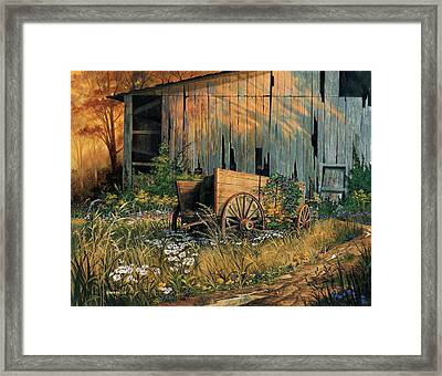 Abandoned Beauty Framed Print by Michael Humphries