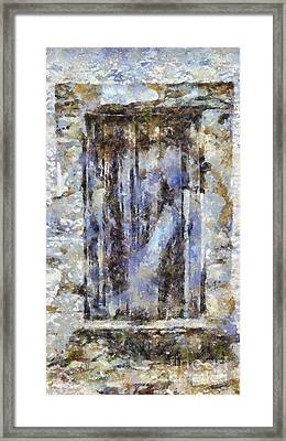Abandoned Beauty Framed Print by Shirley Stalter