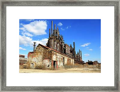 Abandoned Bethlehem Steel Framed Print