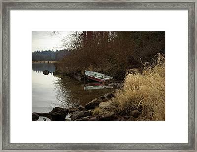 Abandoned Boat II Framed Print