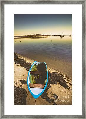 Abandoned Boat  Framed Print by Jorgo Photography - Wall Art Gallery