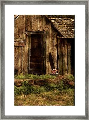 Abandoned Framed Print by Bonnie Bruno