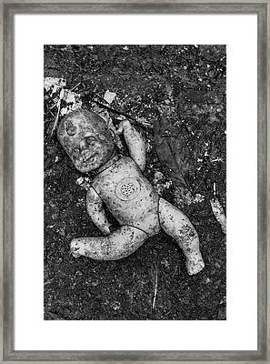 Framed Print featuring the photograph Abandoned But Happy by Amarildo Correa