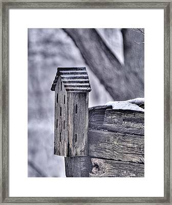 Abandoned Butterfly House Framed Print by Don Wolf