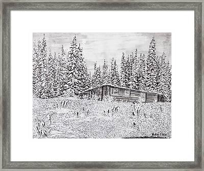 Abandoned Cabin Framed Print
