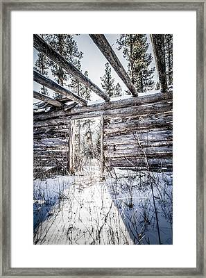 Abandoned Cabin Framed Print by Bryan Moore