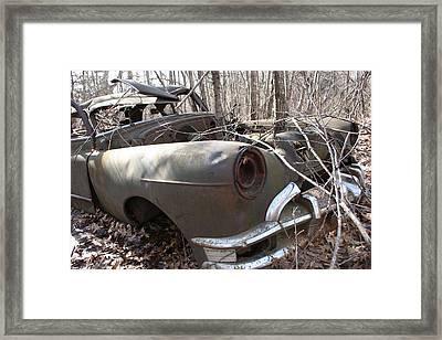 Abandoned Car 12 Framed Print
