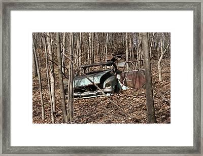 Abandoned Car 2 Framed Print