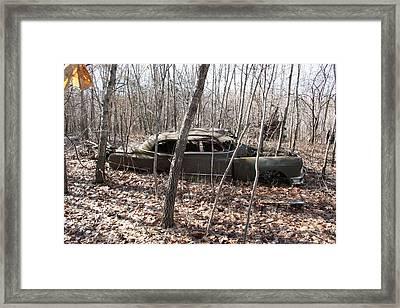 Abandoned Car 6 Framed Print