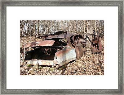 Abandoned Car 7 Framed Print