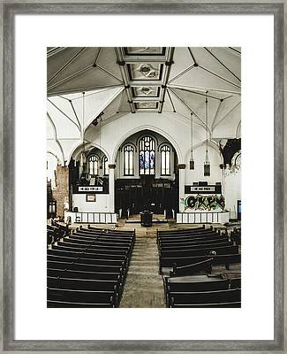 Abandoned Church. Dilapidated Church In St. Louis Framed Print by Dylan Murphy