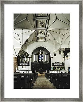 Abandoned Church Framed Print by Dylan Murphy