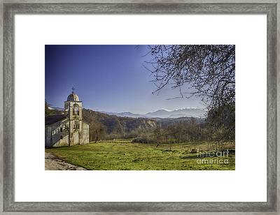 Abandoned Church Framed Print by Jivko Nakev