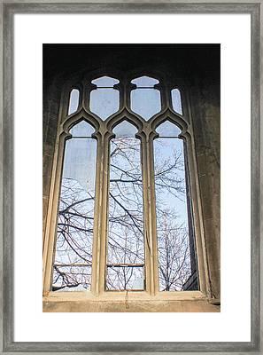 Abandoned Church Window 2 Framed Print
