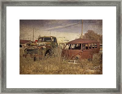 Abandoned Classics  Framed Print by Rob Hawkins