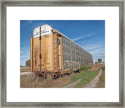 Abandoned Framed Print by Debbie Herb