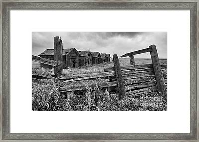 Lost In Time 7 Framed Print by Bob Christopher