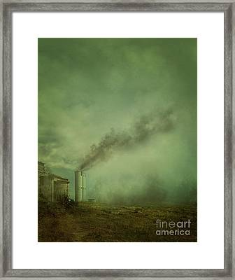 Abandoned Factory Framed Print by Mythja Photography