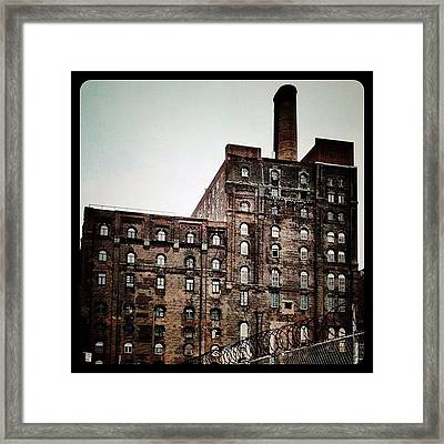 Abandoned Factory Framed Print by Natasha Marco