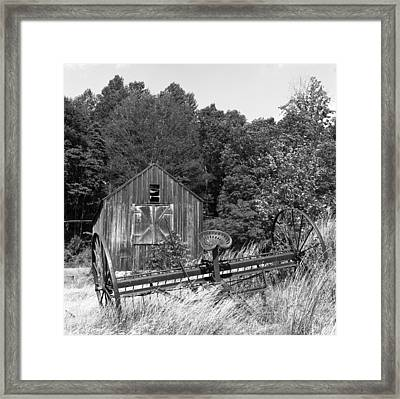 Abandoned Farm Atlantic Coast  Framed Print