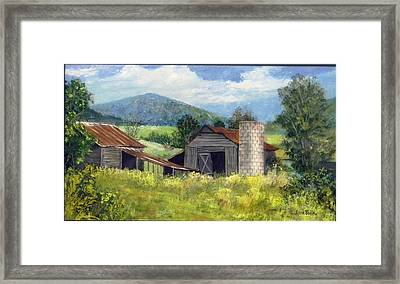 Abandoned Farm   Sold Framed Print